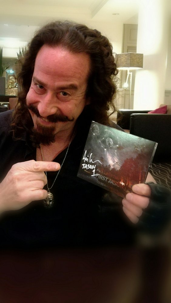 ari lehman first jason to be a monster cd design by